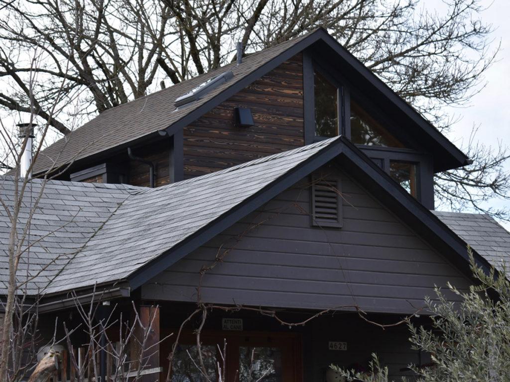 M Residence Yakisugi exterior
