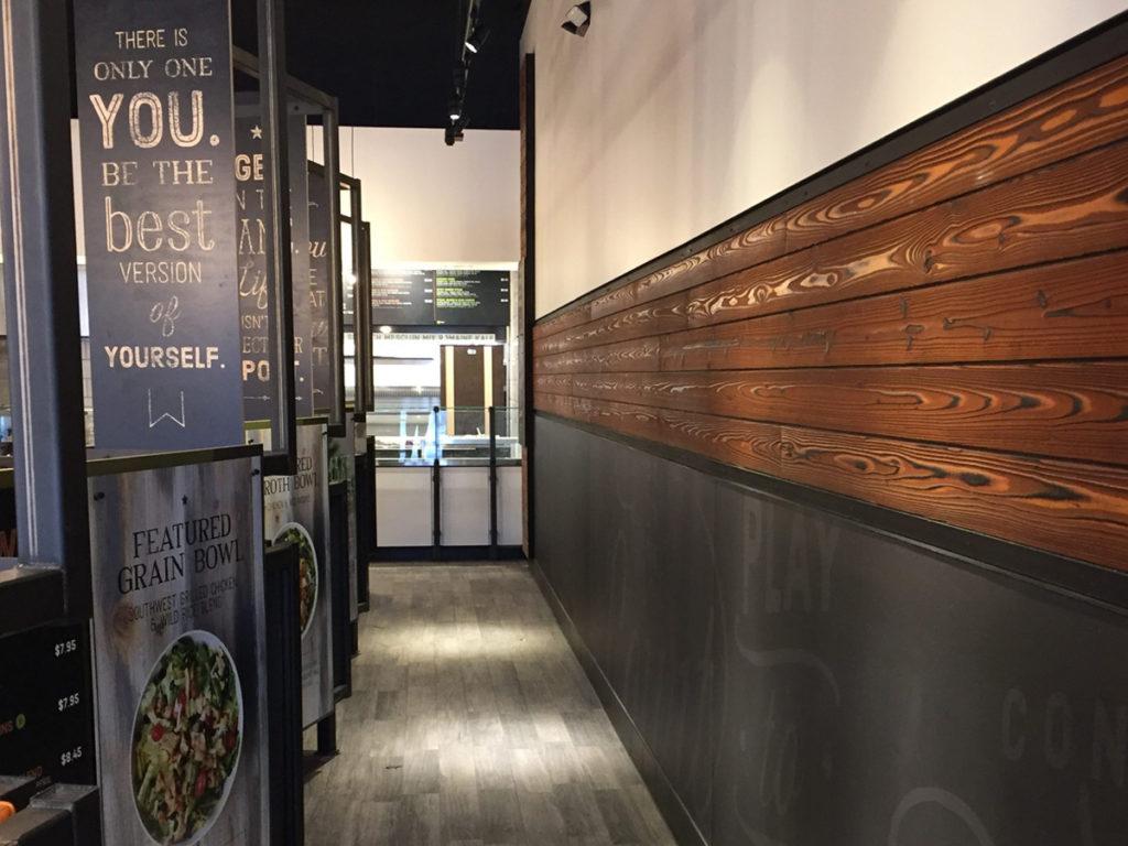 Core Life Eatery restaurant Yakisugi interior