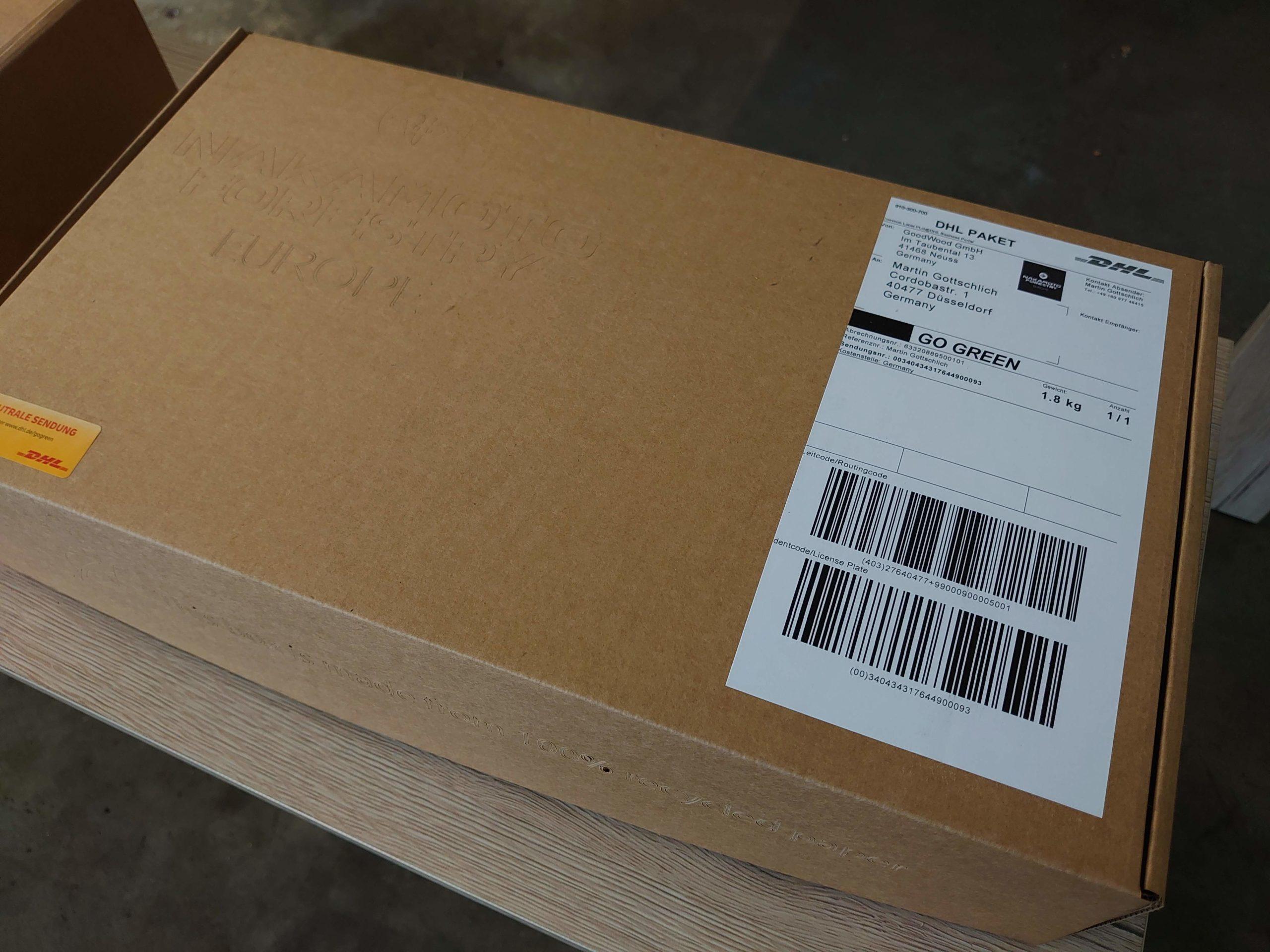 Sample Box outside